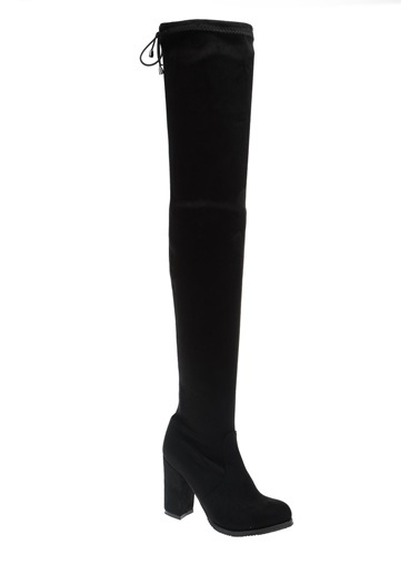 Derigo Siyah Kadın Çizme 41509 Siyah
